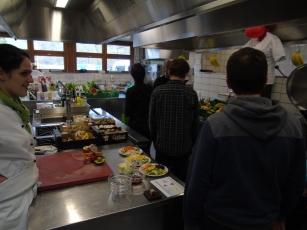 Grossandrang in der Küche